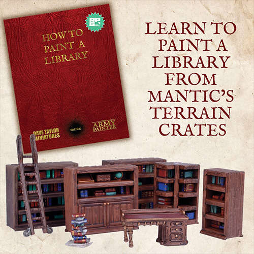 How to Paint a Library