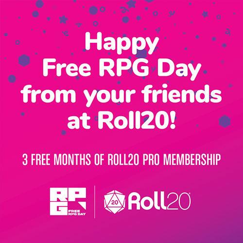 3 Months of Roll20 Pro